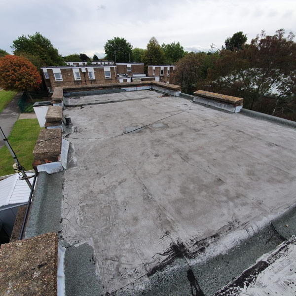 flat roof before construction Doncaster