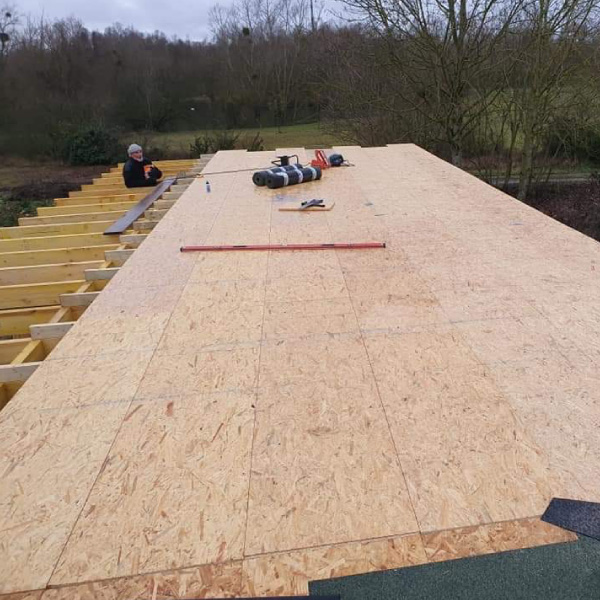flat roof during construction Doncaster