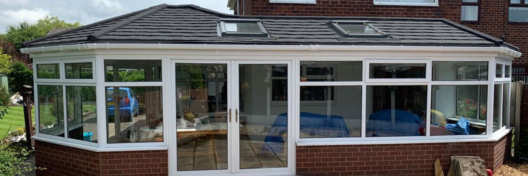 conservatory roof after replacement