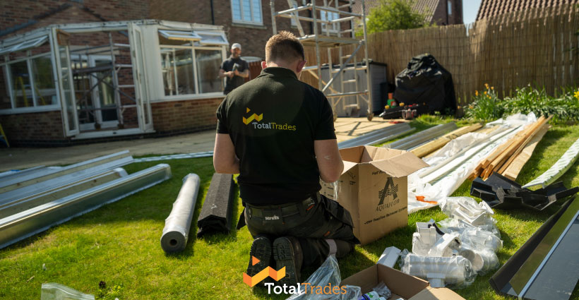 conservatory roof total trades